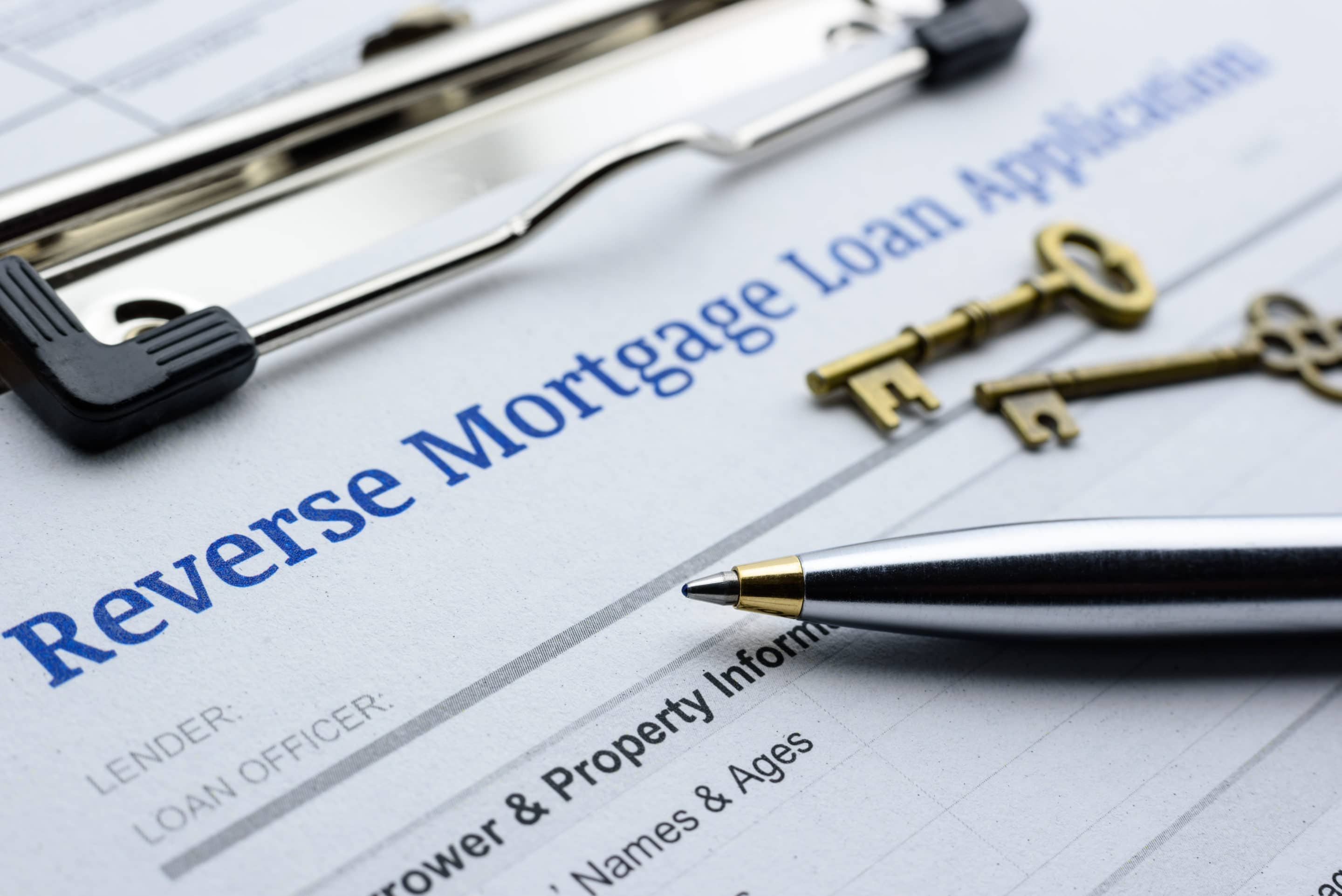 guidelines of a reverse mortgage loan